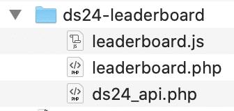 ds24 leaderboard verzeichnis inhalt